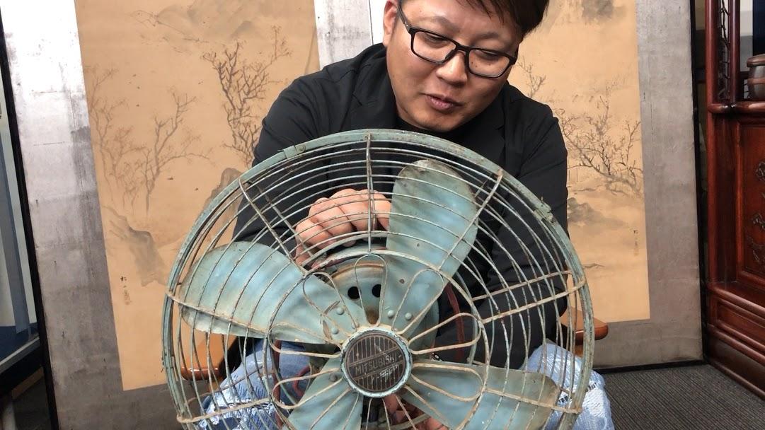 昭和な扇風機