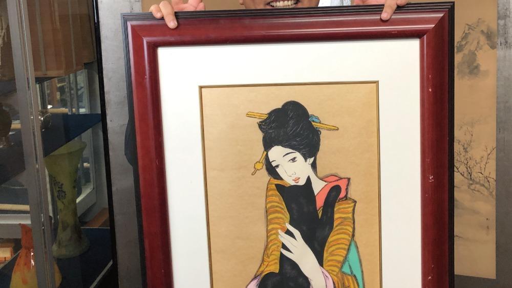 岡山絵画買取
